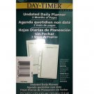 Day-Timer Undated Daily Planner 2 Months of Pages #68384