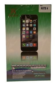 Screen Protector - Screen Guard Anti-Scratch Protection for Samsung Note 4
