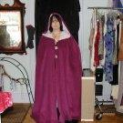 Purple cape fashion by Freilah designs