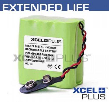 Visonic Powermax Back up Alarm 2300mA Battery 09913Q