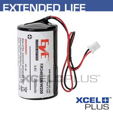Visonic Powermax Bell Box Siren 20,000mAh Battery for MCS-710/730 0-9912-K