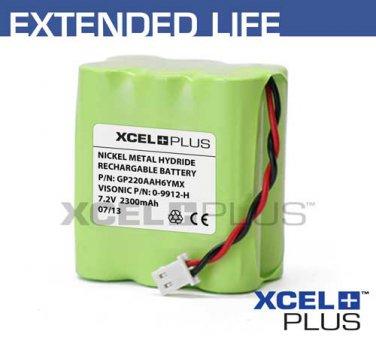 Visonic Powermax & Powermax+ 2300mA Back up Alarm Battery 0-9912-H