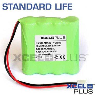 Yale HSA6300 600mA Alarm Control Panel Backup Battery - Model 60AAAH4BMJ