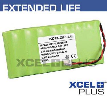 Visonic PowerMaxPro/Complete Alarm 2300mA Battery Pack 9.6V NiMH 0-9912-G