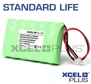 Honeywell Ademco 1100mA LYNX Series 7.2V Control Panel Alarm Battery Pack LYNX-RCHB-SC