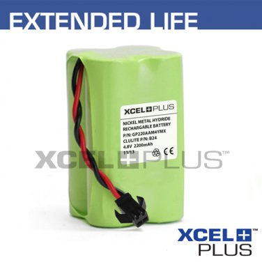 Clulite B24 Rechargeable 2000mA Torch Battery for CLUB-1, INT-1 & FAN-1 Torches