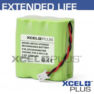 Visonic Powermax 0-9913-W 2200mA GSM Module Back up Alarm Battery