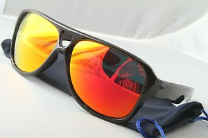 Funky 80s mirrored aviator sunglasses stunna red blue purple dispatch style