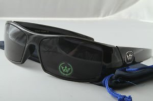 Black SURF Style wrap around sunglasses great for sports beach biker cycling