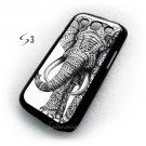 Ornate elephant aztec art elephant ornate samsung galaxy s3 I9300 case