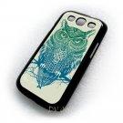 Warrior Owl Animal Art Design Samsung Galaxy S3 i9300 case