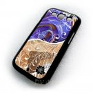 Abstaction Water Colour Design Art Samsung Galaxy S3 i9300 Cover Hard case