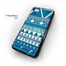 Aztec Blue Pattern Color Blackberry Z10 Case Cover