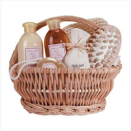 Gingertherapy Bath Set in a Basket