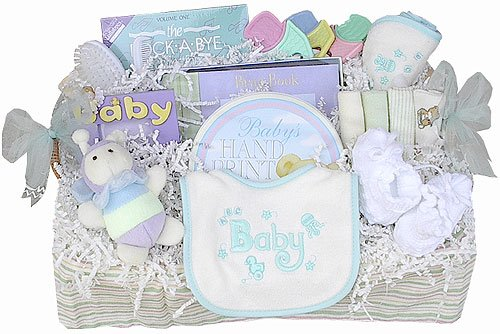 Baby Wants & Needs Gift Basket (Boy, Girl or Neutral)