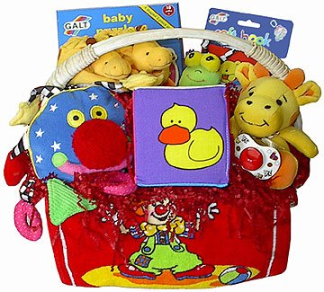 Celebration New Baby Gift Basket
