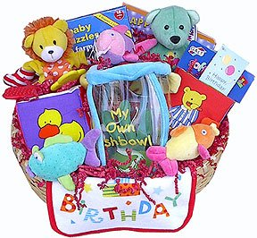 Ultimate First Birthday Gift Basket
