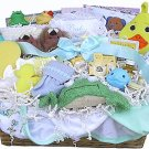 Everything Bath Time Baby Gift Basket (Boy, Girl or Neutral)