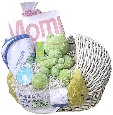 Mom & Baby Comfort Gift Basket (Boy, Girl or Neutral)
