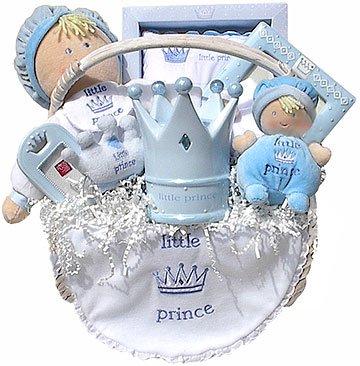 Little Prince Baby Gift Basket
