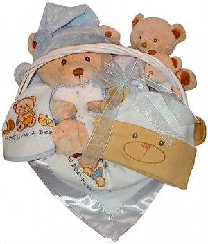 Bear Hugs Baby Gift Basket * Clearance Item *