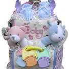Twins Diaper Cake (Boy, Girl, Neutral or Combination)