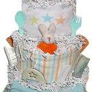 Super Stars Diaper Cake