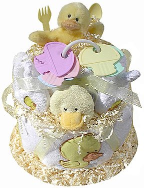 Just Ducky Diaper Cake