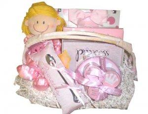 Little Princess Baby Gift Basket