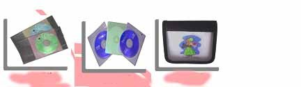 CD Holders, CD Cases, CD Bags, CD Wallets