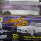 1/25 1956 FORD THUNDERBIRD AMERICAN GRIFFITY DIE CAST METAL BODY REVELL NEW