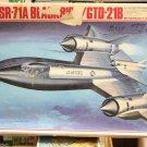 1/72 SR-71A BLACKBIRD + GTD-21B DRONE HASEGAWA NEW