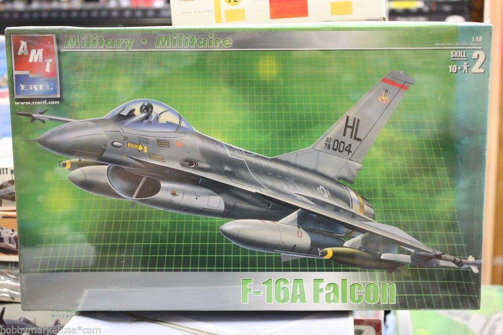 1/48 F-16A FIGHTING FALCON  AMT ERTL NEW
