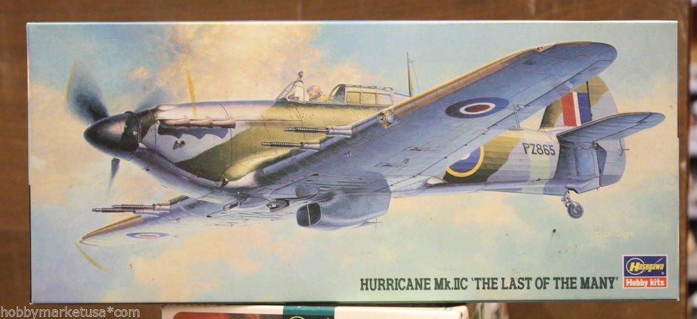 1/72 HURRICANE MK. IIC THE LAST OF THE MANY HASEGAWA NEW