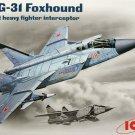 1/72 MiG-31B HEAVY INTERCEPTOR FIGHTER RUSSIA ICM NEW