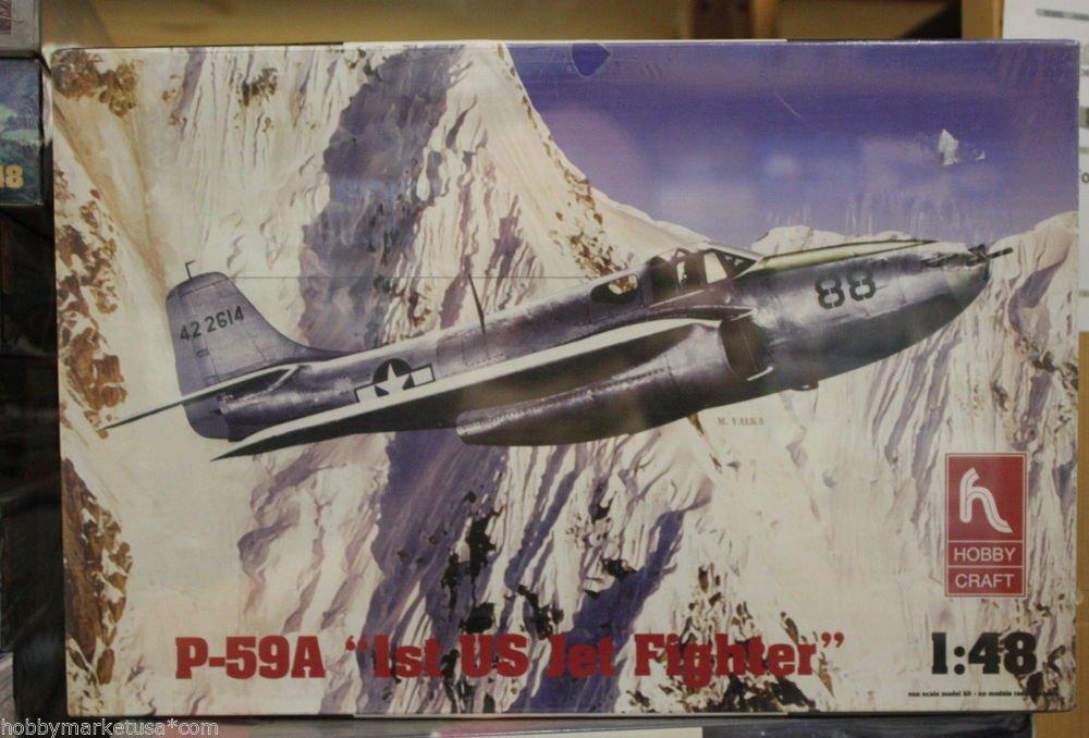 1/48 P-59A st US Jet Fighter Hobbycraft