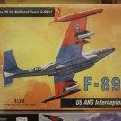 1/72 F-89J USAF / ANG Interceptor Hobbycraft
