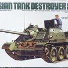 1/35 RUSSIAN TANK DESTROYER SU-85 TAMIYA NEW