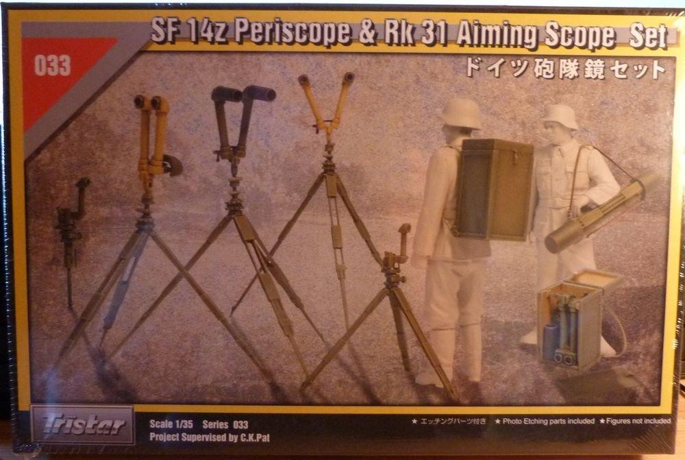 1/35 SF 14Z PERISCOPE & RK 31 AIMING SCOPE SET TRISTAR NEW