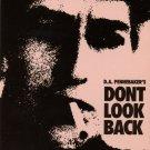 Bob Dylan Don't Look Back VHS