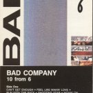 Bad Company 10 From 6 Cassette