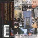 Al di Meola's World Sinfonia Heart of the Immigrants Cassette