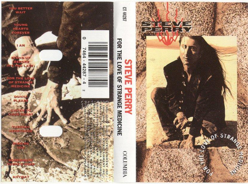 Steve Perry For the Love of Strange Medicine Cassette