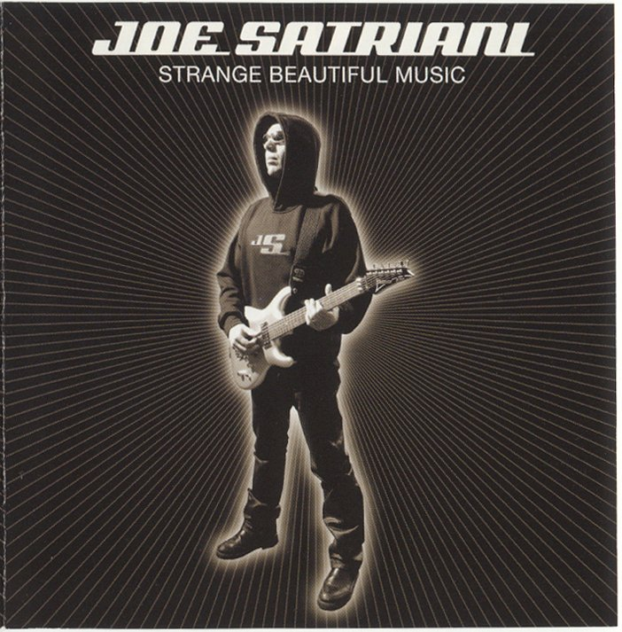 Joe Satriani Strange Beautiful Music CD