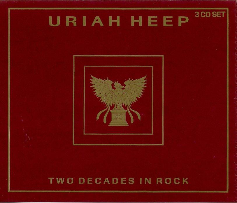 Uriah Heep Two Decades in Rock 3 CDs (Jumbo Jewel Case)