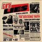 Guns N' Roses G N' R Lies CD