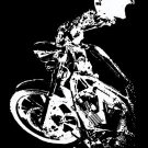 Independent Rider Bumper Sticker, Motorcycle Image #1 (Medium)