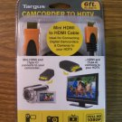 Targus 6Ft. Camcorder to HDTV Mini HDMI Type C to HDMI Type A Cable (TG-MHDM) *NIB*