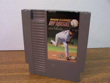 NES LJN Roger Clemens' MVP Baseball *USED*