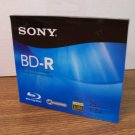 Sony BD-R Blu-Ray Recordable Disc (BNR25R3H) 25GB 1-6x Full HD 1080 *NEW*